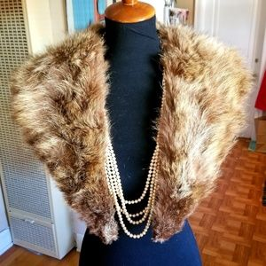 VTG Fur Brown Collar/Scarf❤💜